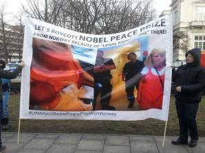 [VIDEO] Let's boycott the Nobel Peace Prize awarded today in Oslo #letsboycottnobelpeaceprizefromnorway